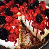 Summer Fruit Cheesecake